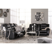 Signature Design by Ashley Vacherie Reclining Sofa and Loveseat Set