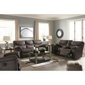 Signature Design by Ashley Boxberg Reclining Sofa, Loveseat and Rocker Recliner Set