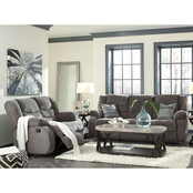 Signature Design by Ashley Tulen Reclining Sofa and Loveseat Set