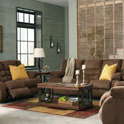 Signature Design by Ashley Tulen Reclining Sofa, Loveseat and Recliner Set