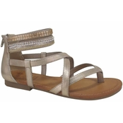 Jellypop Shoes Levine Strappy Flat Sandals