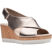 Clarks Cammy Pearl Wedges