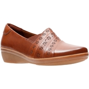 Clarks Everlay Uma Slip On Shoes