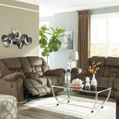 Signature Design by Ashley Capehorn Reclining Sofa, Loveseat and Recliner Set