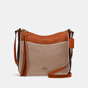 COACH CHAISE CROSSBODY LEATHER CYPRESS MULTI