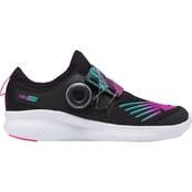 New Balance Grade School Girls GKBKORB FuelCore Reveal Cushioned Running Shoes