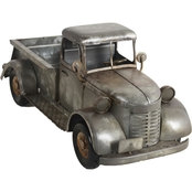 Simply Perfect Galvanized Iron Truck Statue