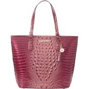 Brahmin Asher Melbourne Lotus Leather Tote