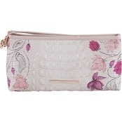Brahmin Kayla Lotus Bloomsbury Leather Wristlet