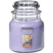 Yankee Candle Lemon Lavender Classic Jar Candle, Medium
