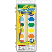 Crayola Washable Watercolor Paint 16 Pc. Set