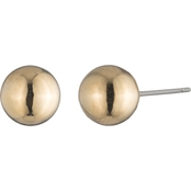 Lauren Ralph Lauren Goldtone Ball Stud Earrings