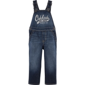 OshKosh B'gosh Infant Boys Core Graphic World's Best Overalls