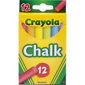 Crayola Chalk Assorted Color 12 pk.