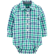 OshKosh B'gosh Infant Boys Gingham Bodysuit