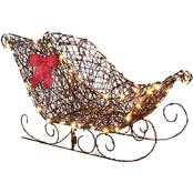 Gemmy Starry Night Grapevine Sleigh
