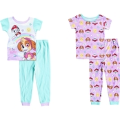 Nickelodeon Infant Girls Paw Patrol 4 pc. Cotton Set