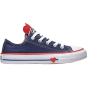 1017620d8e04 Converse Girls Chuck Taylor All Star Low Top Sneakers