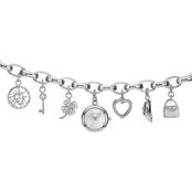 Anne Klein Women's Charm Bracelet Watch 18mm 1667806
