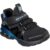 Skechers Grade School Boys Mega Volt Gore and Strap Sneakers with Heel Springs