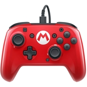 PDP Faceoff Wired Pro Super Mario Edition Controller for Nintendo Switch