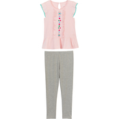Gumballs Flutter Sleeve Top and Leggings 2 pc. Set