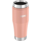 Thermos 16 oz. Stainless Steel Travel Tumbler, Matte Dusty Blue
