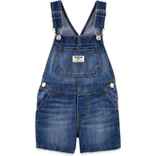 OshKosh B'gosh Toddler Girls Eyelet Trim Shortalls