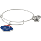 Alex and Ani Buffalo Bills Football Color Infusion Charm Bangle
