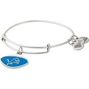 Alex and Ani NFL Detroit Lions Color Infusion Charm Bangle Bracelet