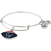 Alex and Ani Houston Texans Football Color Infusion Charm Bangle