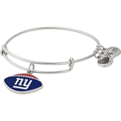Alex and Ani NFL New York Giants Color Infusion Charm Bangle Bracelet
