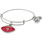 Alex and Ani NFL Football Color Infusion Charm Bangle Bracelet San Francisco 49ers