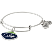 Alex and Ani NFL Seattle Seahawks Color Infusion Charm Bangle Bracelet