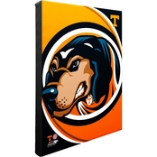 NCAA Sports Team Logo Stretched Canvas 16 in. x 20 in. Wall Art