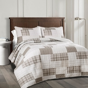 Lush Decor Greenville Quilt Set 3 Pc.