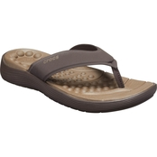 Crocs Men's Reviva Espresso Flip Flops