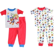 Nickelodeon Infant Boys Paw Patrol 4 pc. Pajama Set