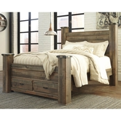 Ashley Trinell Storage Bed