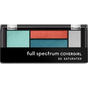 CoverGirl Full Spectrum So Saturated Quad Eyeshadow Palette