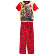 Marvel Little Boys Avengers Infinity War 2 pc. Pajama Set