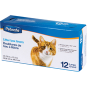 Petmate Cat Litter Pan Liners Large 12 ct.