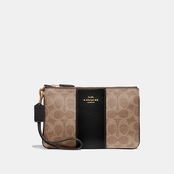 COACH Small Signature Wristlet