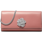 Michael Kors Bellam Large East West Leather Clutch
