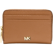 MICHAEL KORS ZA COIN CARD LEATHER BLACK