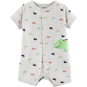 Carter's Infant Boys Chameleon Snap Up Romper