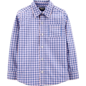 OshKosh B'gosh Checkered Button Front Shirt