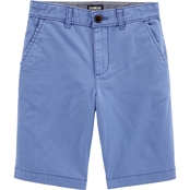 OshKosh B'gosh Little Boys Stretch Flat Front Shorts