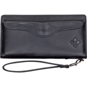 Patricia Nash Heritage Leather Wristlet