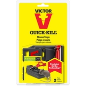 Victor Quick Kill Mousetrap 2 pk.